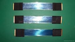 极细同轴线加工 I-PEX极细线 MCX micro coaxial线加工