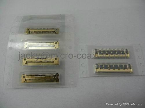 電腦連接器 I-PEX 20525-030E連接器,IPEX 20525-030E板端母座 2