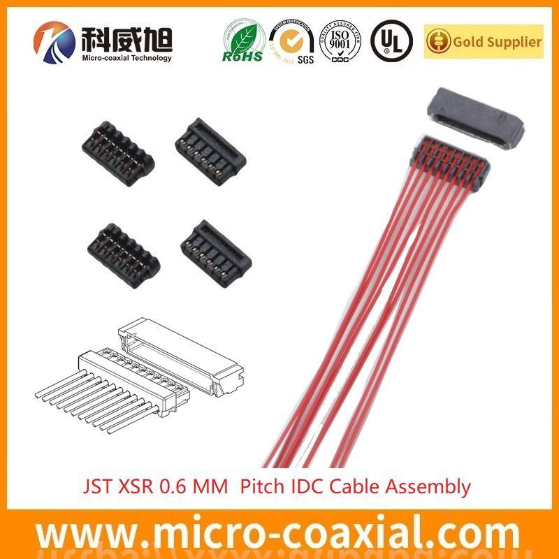 JST XSR 刺破线束加工 0.6 MM 压接连接器 JST 0.6 mm Pitch 刺破压接线束加工