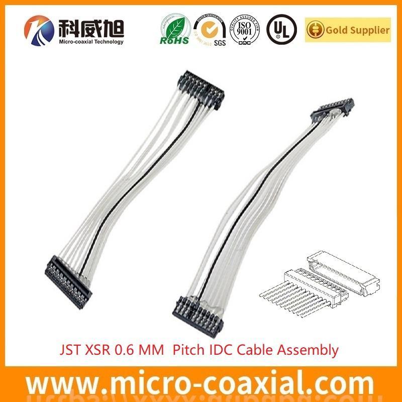 XSR 0.6压接线加工 JST 0.6 mm IDC 刺破线加工