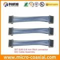 2 4 6 8 10 pin JST 0.8 压接线 JST SUR 刺破线加工