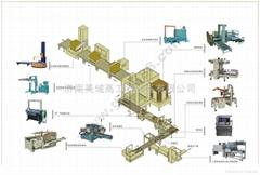 济南美域高自动化纸箱包装流水线