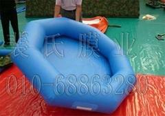 大型移动式充气水池游泳池