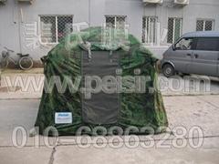 充氣野營帳篷