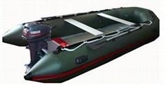 充氣式挂機艇