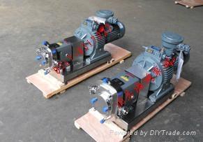 不锈钢转子泵 2
