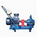 湖南衡陽移動齒輪泵