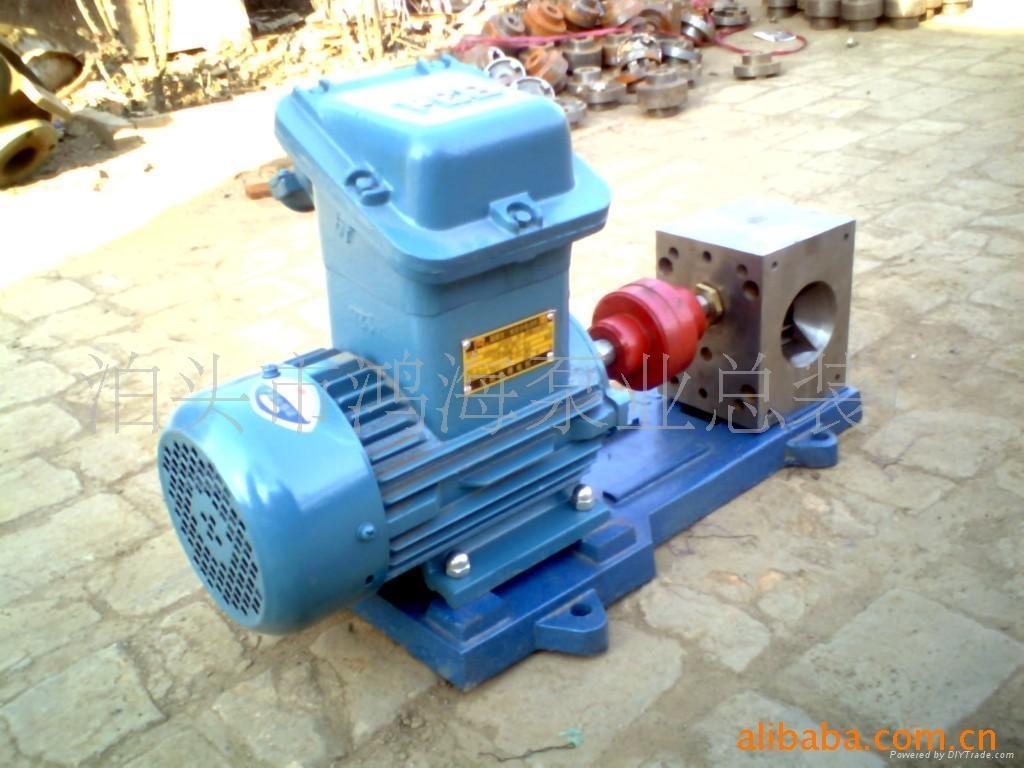 热熔胶保温齿轮泵 2