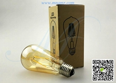 ST64 4W LED Edison Bulb E26 E27 B22 AC110V 220V 230V CE RoHS FCC SAA Certificate