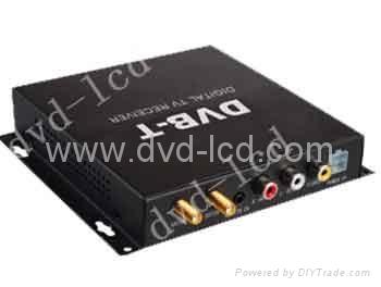 car digital tv receiver ISDB-T,DVB-T,ATSC-MH TV receiver    1