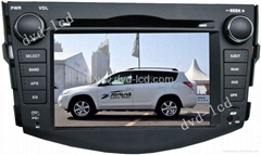Toyota RAV4 car special dvd player with high definition lcd monitor GPS