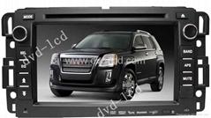 GMC yukon car dvd player with high definition lcd monitor Navigation IPod