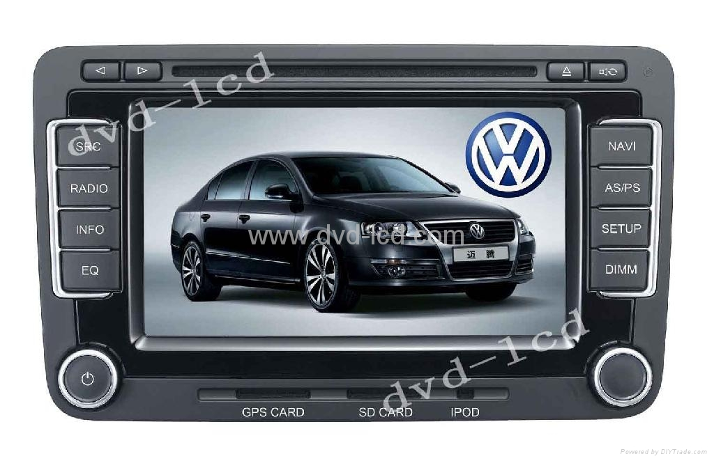 Volkswagen Magotan touareg Seat car dvd player with HD lcd Navigation 1