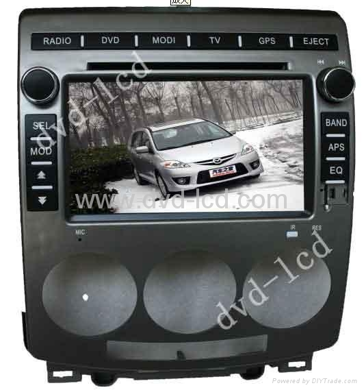 Mazda 5 car special dvd player with HD LCD bluetooth Ipod navigation 1