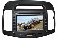 car dvd player  Hyudai Elantra with high definition lcd monitor navigation GPS