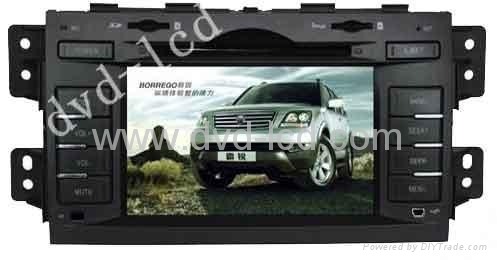 KIA Mohave car special dvd playerwith high definition lcd monitor Navigation GPS 1