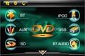 Hyundai Veracruz car dvd player with high definition lcd monitor navigation GPS 2
