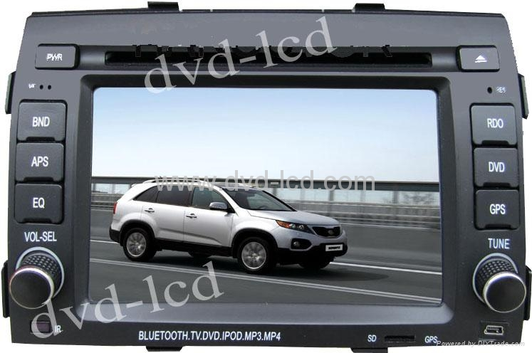 Kia Sorento car special dvd player with high definition lcd monitor Navigation   1