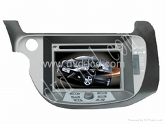 car special dvd player for Honda fit with high definition lcd GPS system