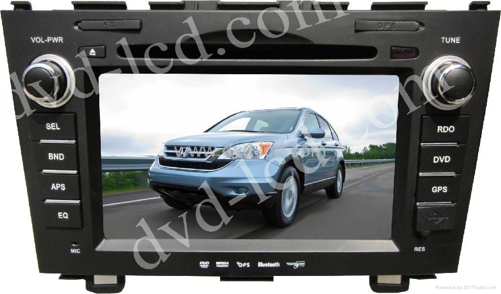 Honda CR-V  CRV car special dvd player with high definition lcd GPS navigation  1