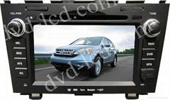 Honda CR-V  CRV car special dvd player with high definition lcd GPS navigation