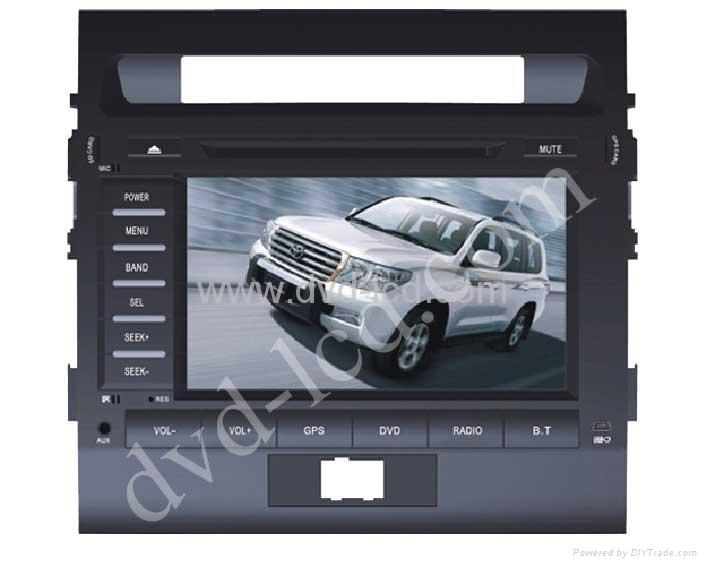 2010,2011 toyota landcruiser car special dvd player GPS navi 1
