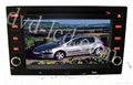 Peugeot 307 car dvd player with high