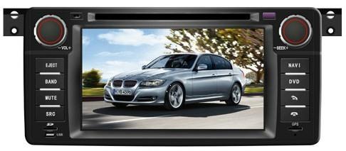 BMW X3 E39 E38 car dvd player radio with HD LCD GPS navigation system 1