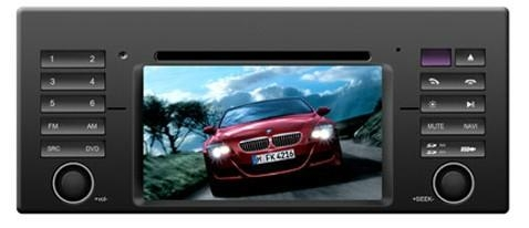 BMW X6 E46 car dvd player  radio with high definition lcd GPS navigation system 1