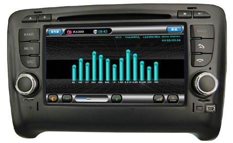 Audi TT car dvd player  radio with high definition lcd GPS navigation system 1