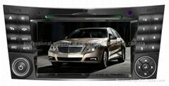 Mercedes Benz E calss car dvd player  radio GPS navigation system