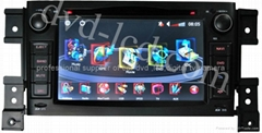 Suzuki Vitara car dvd player  radio  high definition lcd GPS navigation system