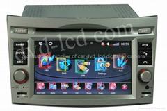 Subaru car dvd player  radio  high definition lcd GPS navigation system