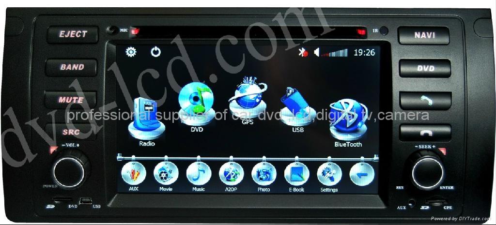 BMW E46 M3 rover 75 car dvd player radio  HD lcd GPS navigation system 1