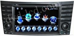Benz w209 W219 W203 car dvd player radio HD LCD GPS navigation system