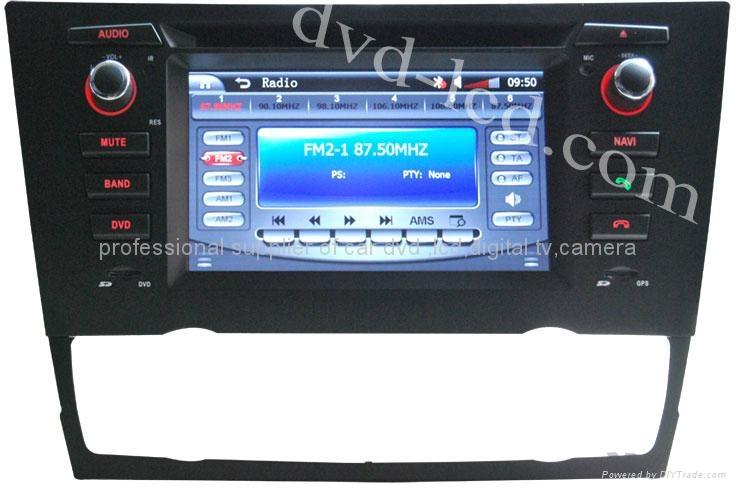 BMW E90 E91 E92 E93 car dvd player radio HD LCD GPS navigation system 1