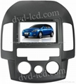 Hyundai I30 car dvd player  radio HD lcd