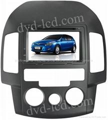 Hyundai I30 car dvd player  radio HD lcd GPS navigation system