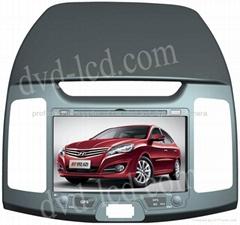 2011 Elantra car dvd player  radio HD lcd GPS navigation system