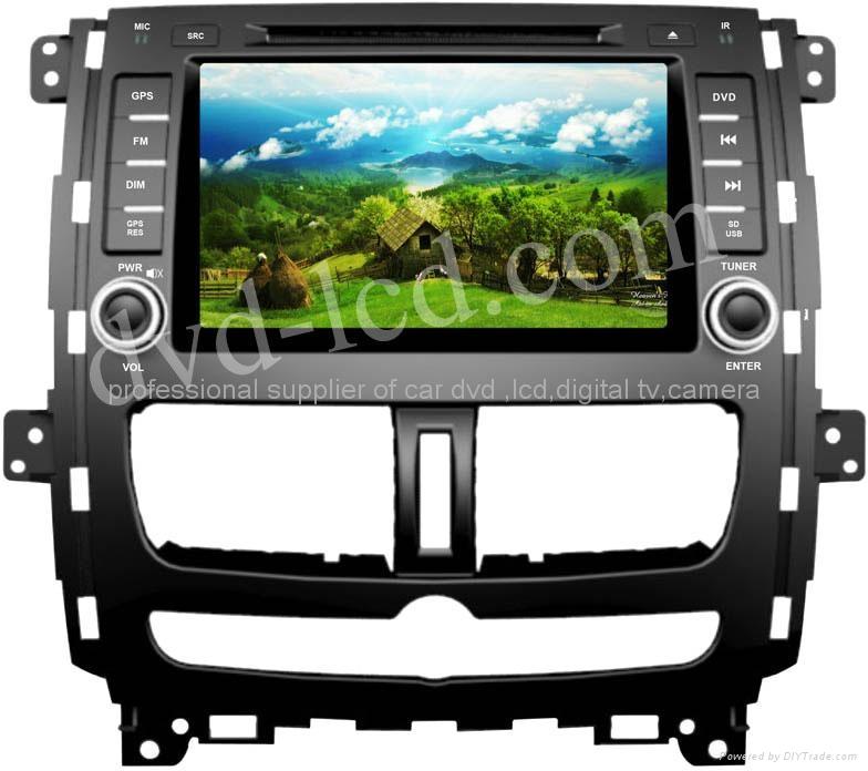 Nissan Qashqai car dvd player  radio HD lcd GPS navigation system 1
