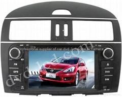 Nissan Tiida  car dvd player  radio HD lcd GPS navigation system