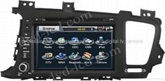 Kia K5 car dvd player  radio HD lcd GPS navigation system