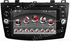 New 2010-2011 Mazda 3 car dvd player  radio HD lcd GPS navigation system