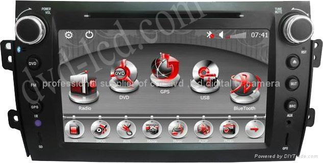 Suzuki SX4 car dvd player  radio HD lcd GPS navigation system 1