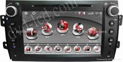 Suzuki SX4 car dvd player  radio HD lcd GPS navigation system