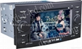 Reiz car dvd player  radio HD lcd GPS navigation system 1