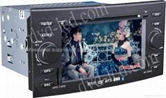 Reiz car dvd player  radio HD lcd GPS navigation system
