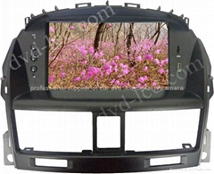 Buick Excelle car dvd player  radio HD lcd GPS navigation system