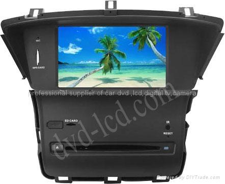 New Odyssey car dvd player  radio HD lcd GPS navigation system 1