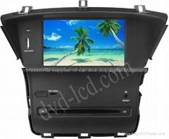 New Odyssey car dvd player  radio HD lcd GPS navigation system